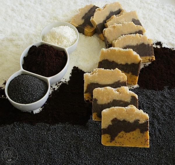 Naturalne mydło ciasteczkowe