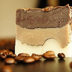 Przepis na mydło kawowe