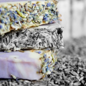 Mydło naturalne lawendowe