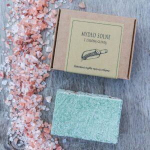 Mydło solne ręcznie robione naturalne
