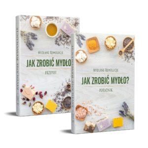 """Pakiet 3w1: ebook """"Jak zrobić mydło? Poradnik + Przepisy"""" + etykiety na mydła"""