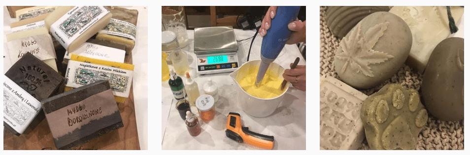 O początkach robienia mydła