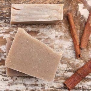 przepis na mydło cynamonowe