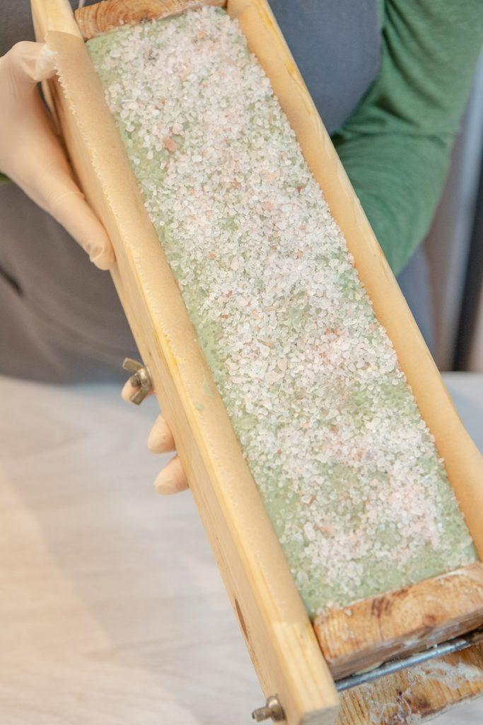 Przepis na mydło solne
