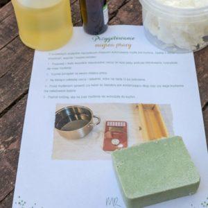 zestaw składników do mydła solnego