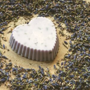 Zestaw do mydła glicerynowego lawendowego