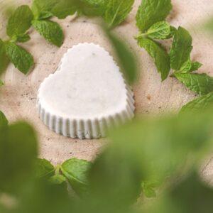 Zestaw do mydła glicerynowego miętowego z zieloną glinką