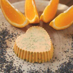 Zestaw do mydła glicerynowego pomarańczowego