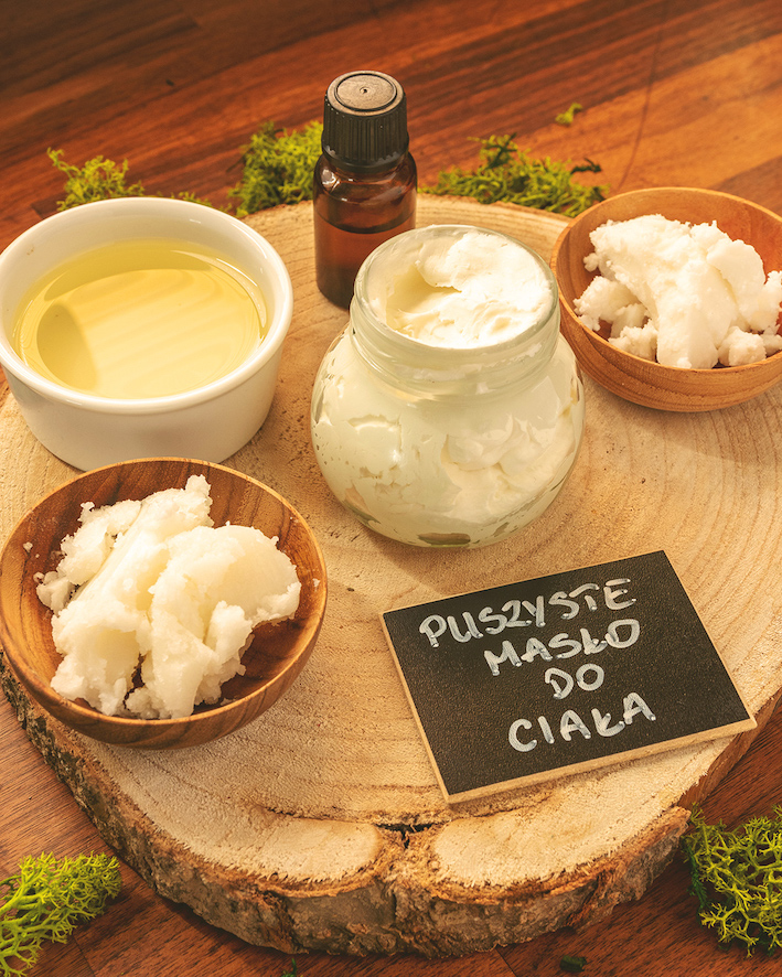 Jak zrobić puszyste masło do ciała