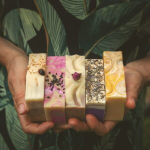 Pakiet 7 dowolnych mydeł naturalnych